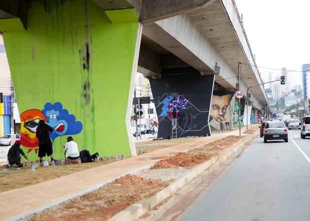 Grafite - 2º Museu Aberto de Arte Urbana em São Paulo