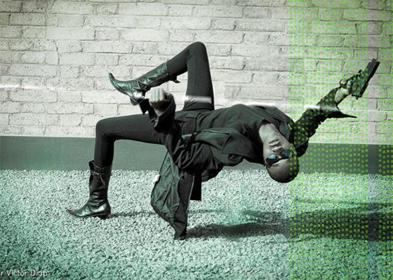 Fotógrafio Diop recria cenas famosas de filmes com modelos negros