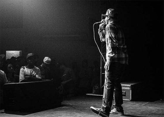 Seth no palco