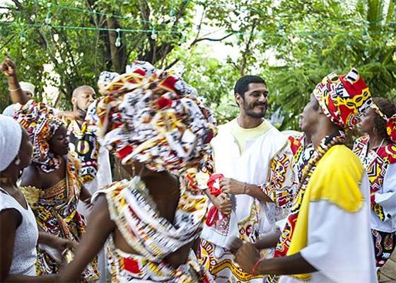 Criolo no Carnaval baiano