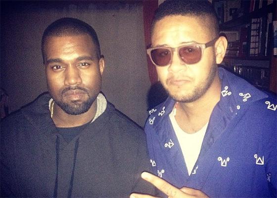 Emicida e Kanye West