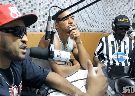 Facção Central no programa Revolução Rap, da Rádio Heliópolis