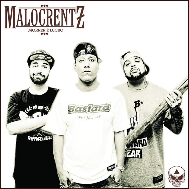 Capa do CD Morrer é lucro, do Malocrentz