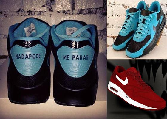 Marcelo D2 e Nike na coleção de tênis do CD Nada Pode Me Parar
