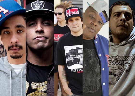 Rappers que gravarão EP com o DJ Revolution