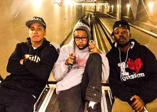 Rashid, Emicida e DJ Nyack