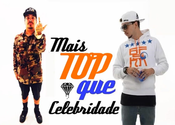 Música Mais Top Que Celebridade, do Young Kito e Tomim