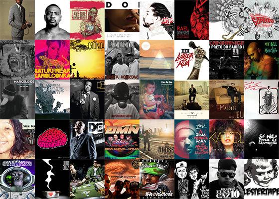 40 CDs de RAP Brasileiro de 2014