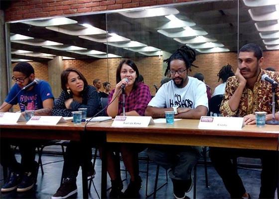 Criolo, Emicida, Rael e Flora Matos em debate
