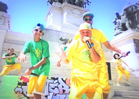 Hino Nacional Brasileiro na versão RAP do Matéria Rima