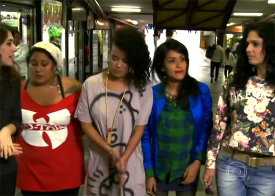 Mulheres representam RAP Brasileiro no Encontro com Fátima Bernardes