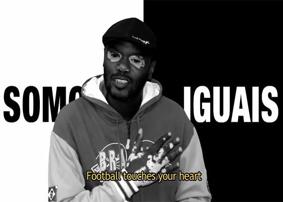 Rappin Hood em campanha da CBF contra o preconceito no futebol