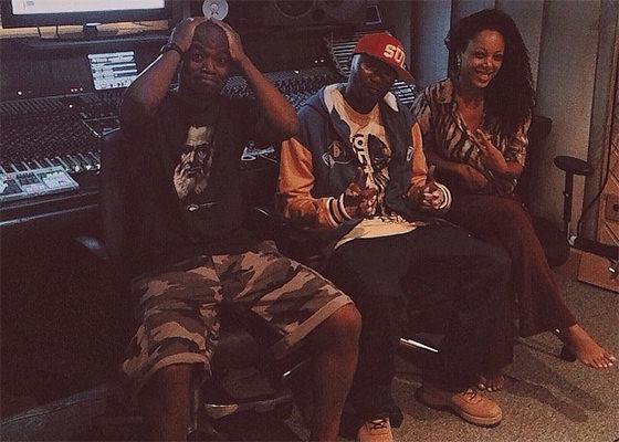 Rappin Hood, Parteum e Negra Li em estúdio
