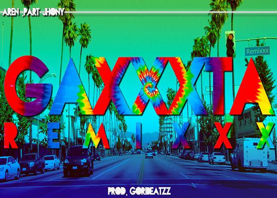Remix da música Gaxxta com Aren e Jhony