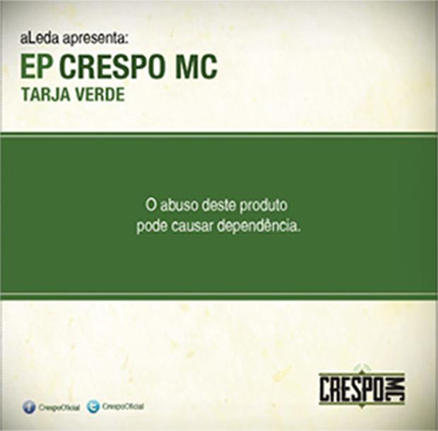 CD Tarja Verde, do Crespo MC
