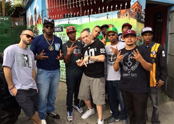 DJ Revolution, Maurício DTS, DJ Dri, Negredo e Rapa da Godoy