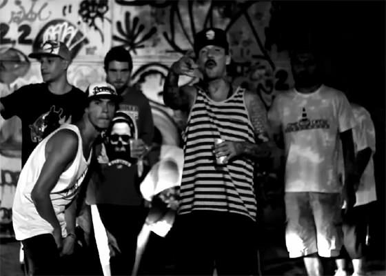 Cartel MCs no clipe St. Amaro