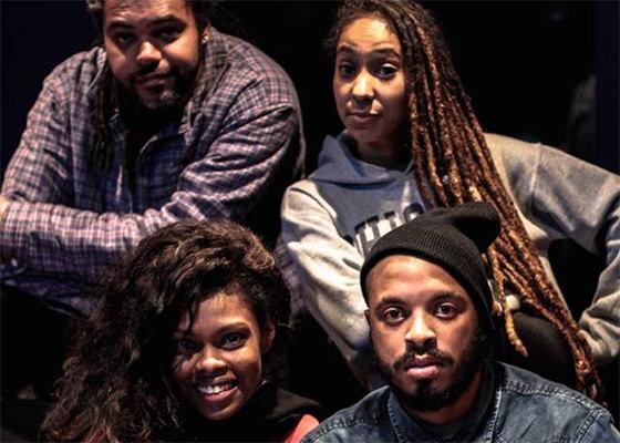 Nego E, Xênia França, Mel Duarte e Tico Pro (Foto: Muriel Xavier)