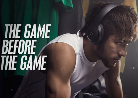 Neymar e Beats by Dre em The Game Before The Game
