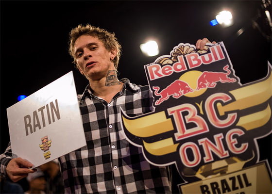 Ratin campeão do Red Bull BC One Brasil 2014 (Foto: Marcelo Maragni)