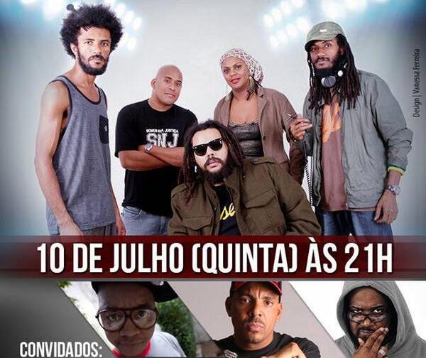 SNJ, Xis, Dexter e DJ King no SESC Pompéia, em São Paulo