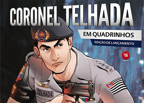 História em quadrinhos do Coronel Telhada