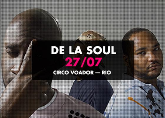 De La Soul no Rio de Janeiro, 2014