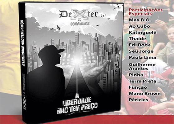 DVD A Liberdade Não Tem Preço, do Dexter