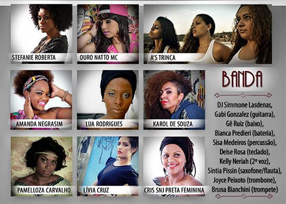 Divas do Hip Hop no SESC