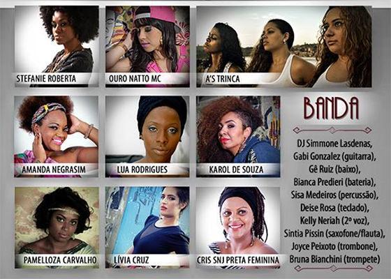Divas do Hip Hop no SESC