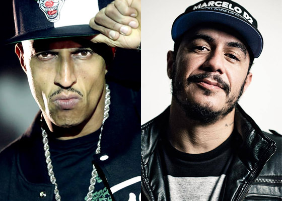 Mano Brown e Marcelo D2