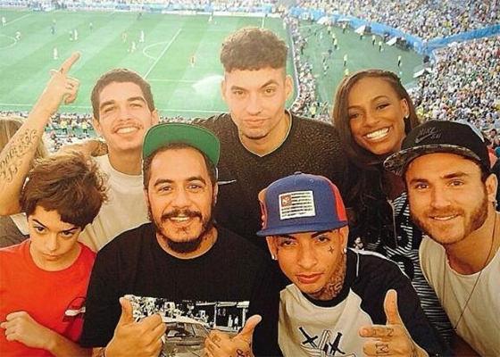 Marcelo D2, Sain, RET, Guimê no Maracanã