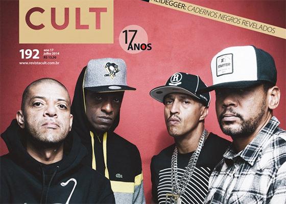 Racionais é capa da revista Cult de Julho