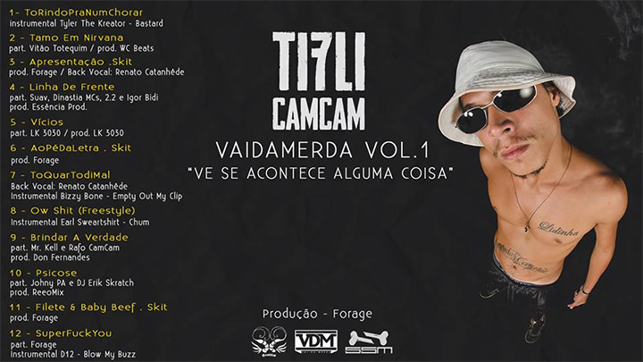 CD VaiDaMerda Vol. 1, do Tifli