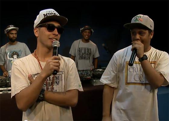 Kamau e Rashid no Estúdio Showlivre