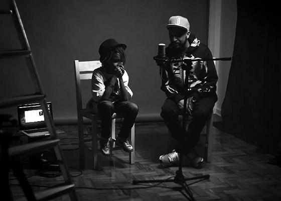 Max B.O. e o filho Zion no Projeto Studio62 especial Dia dos Pais