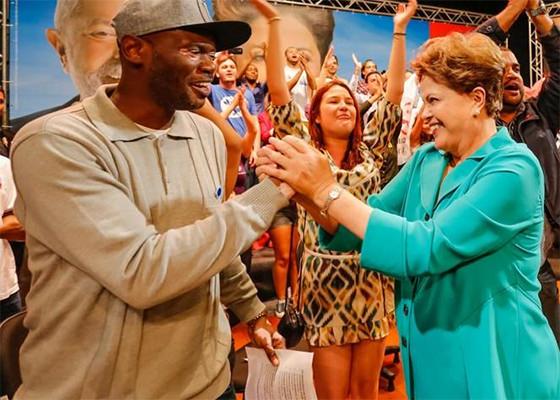 Rappin' Hood e Dilma
