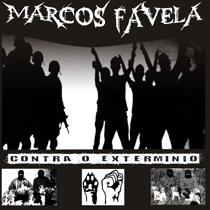 CD Contra o Extermínio, do Marcos Favela
