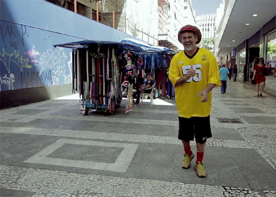 Nelson Triunfo no doc Marco Zero do Hip Hop