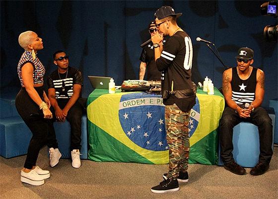 All-Star Brasil no Estúdio Showlivre