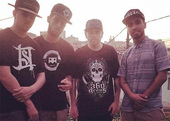 Coruja BC1, Rashid, DJ Caique e Philipe Terceiro