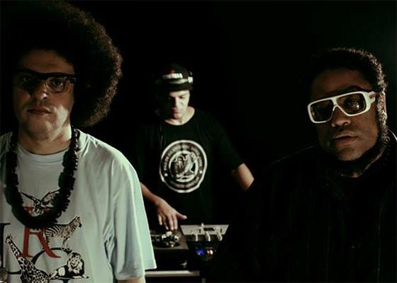 DJ Nato PK, Rodrigo Brandão e BNegão