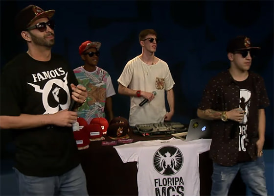 Floripa MCs no Estúdio Showlivre