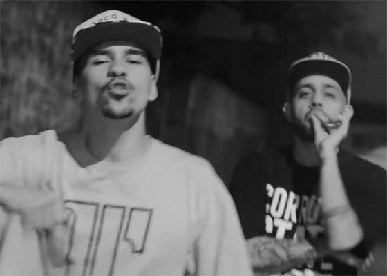 Gah MC e Guzzy no clipe 0 to 100