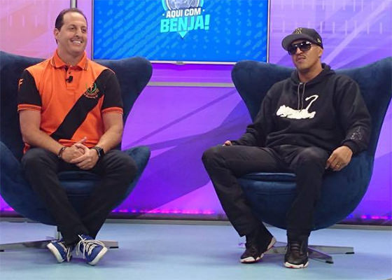 Mano Brown no Aqui Com Benja