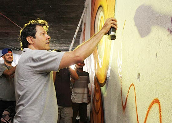 Graffiti do Fernando Haddad