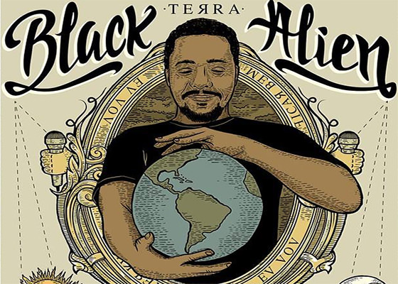 Música Terra, do Black Alien
