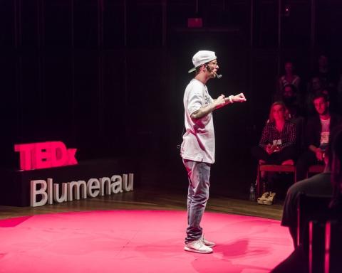Marcello Gugu no TEDxBlumenau 2016